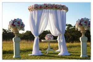 Wedding ceremony hire packages wedding decorations by naz luxury wedding ceremony package junglespirit Images
