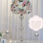 tall-glass-vase-centerpiece hire