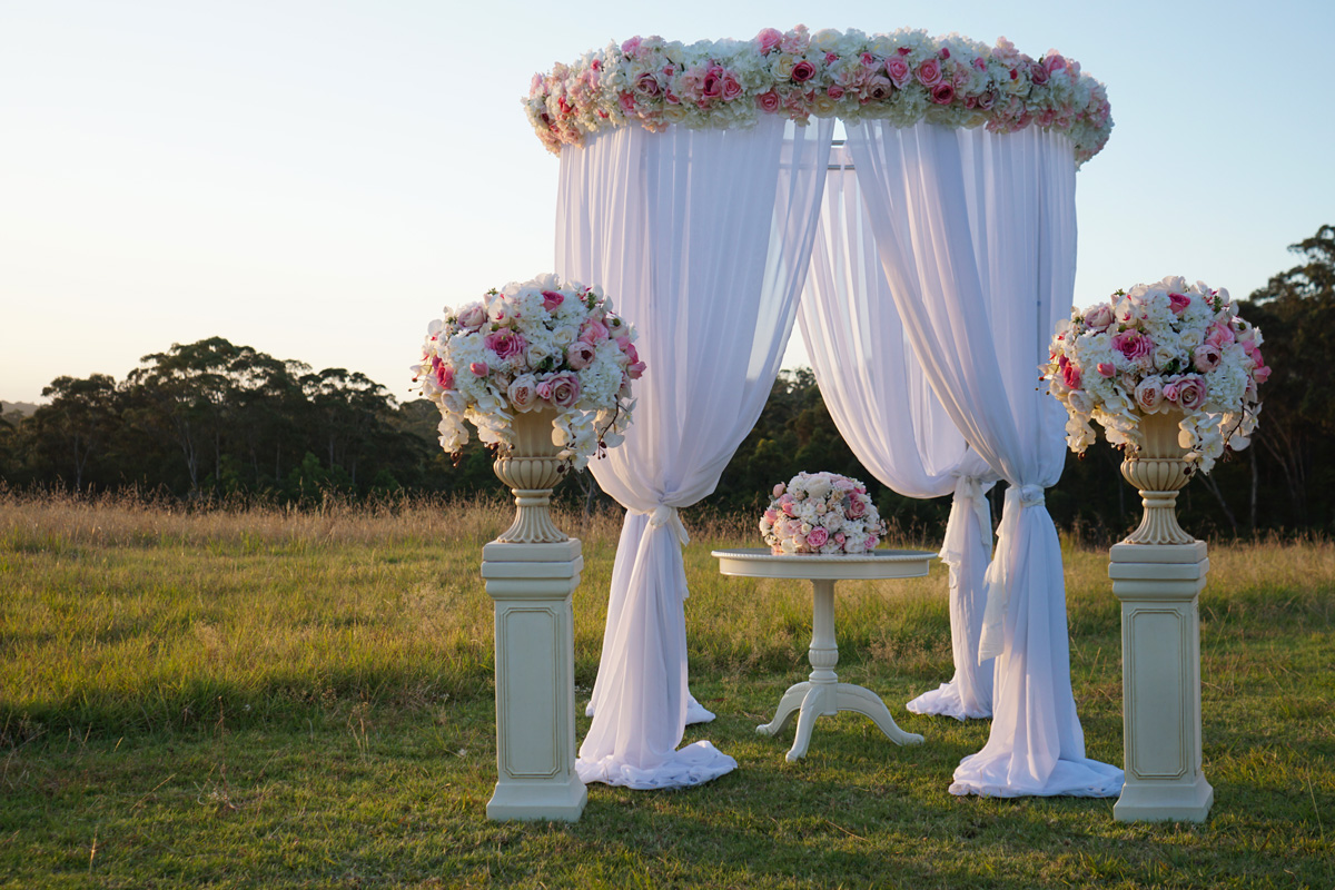 wedding canopy hire