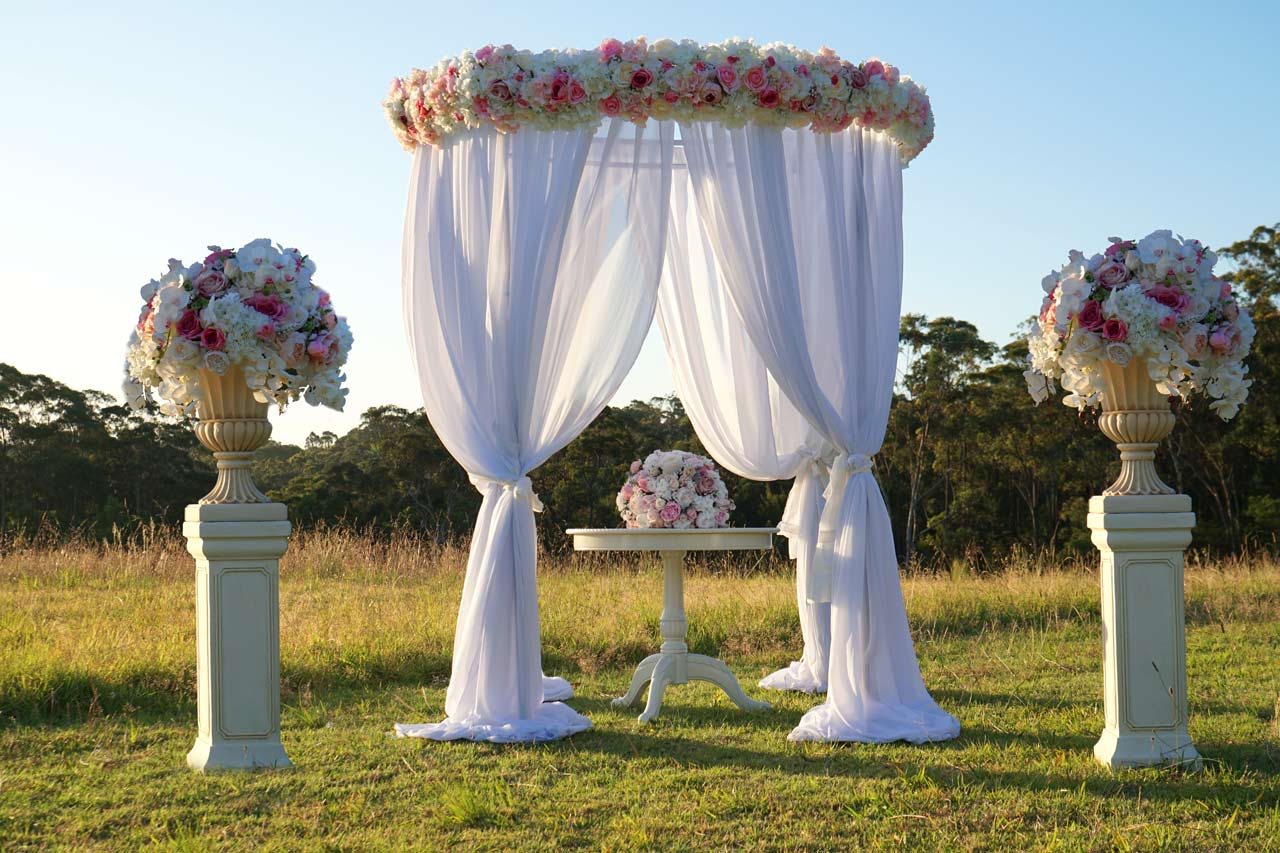 Wedding ceremony hire packages wedding decorations by naz wedding ceremony packages hire junglespirit Images